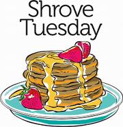 Pancake Tuesday at St. Edward