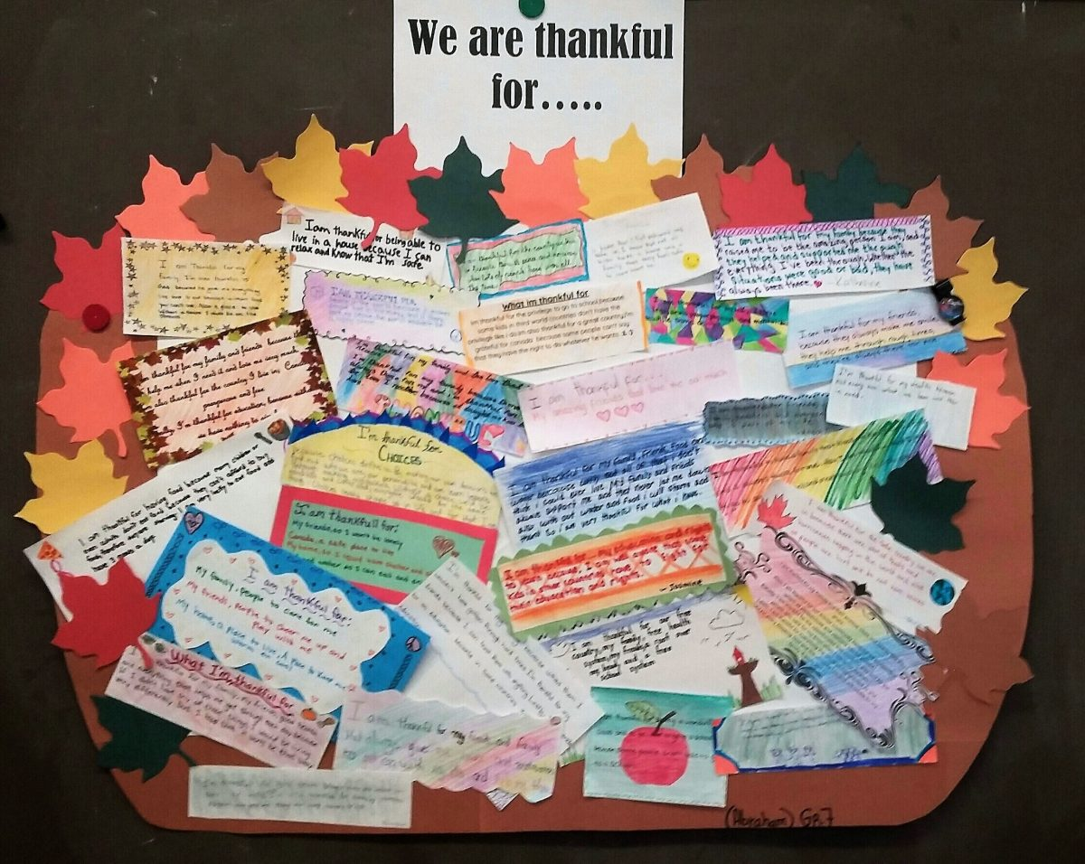 Wishing everyone a blessed Thanksgiving!  We have so much to be thankful for!