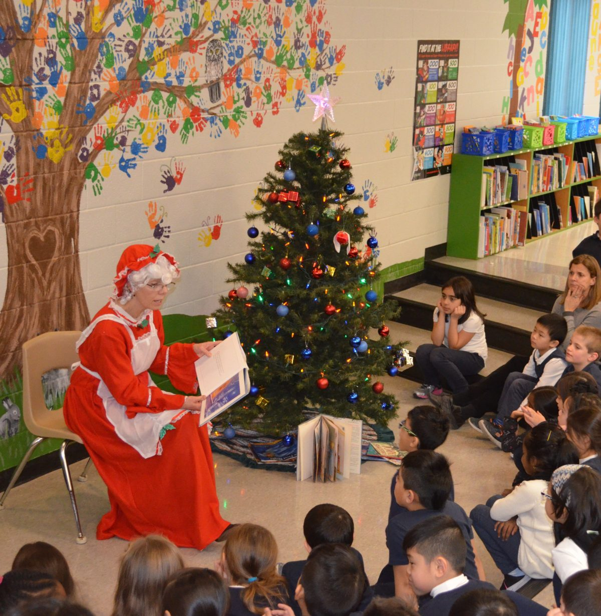 Storytime with Mrs. Clause