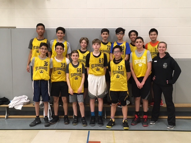Congratulations to the Intermediate Boys Basketball team!