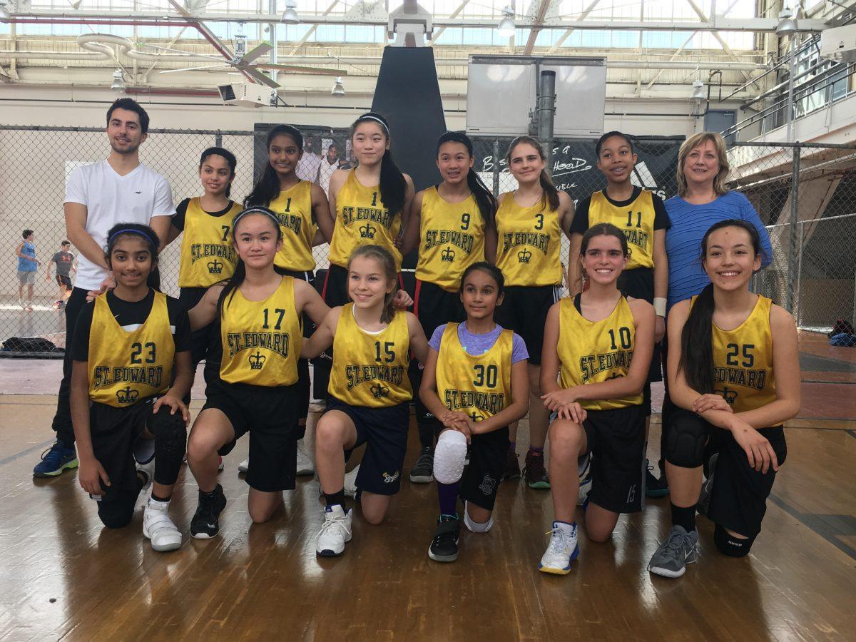 Congratulations to our Intermediate Girls Basketball Team!