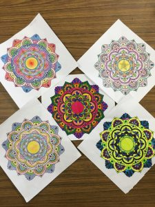 Bell Let's Talk: Meditative Mandala Art