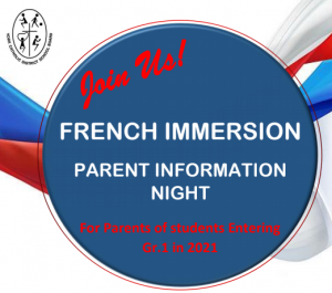 French Immersion Parent Information Evening